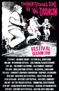 Festival Gigs: The Bar Steward Sons of Val Doonican | Tarka ...